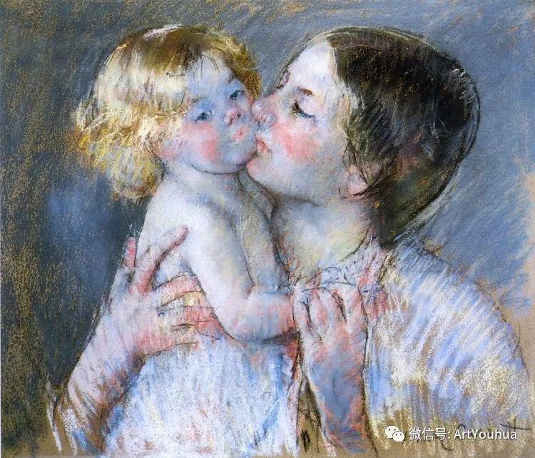 50张人物肖像  美国Mary Stevenson Cassatt油画作品一插图65