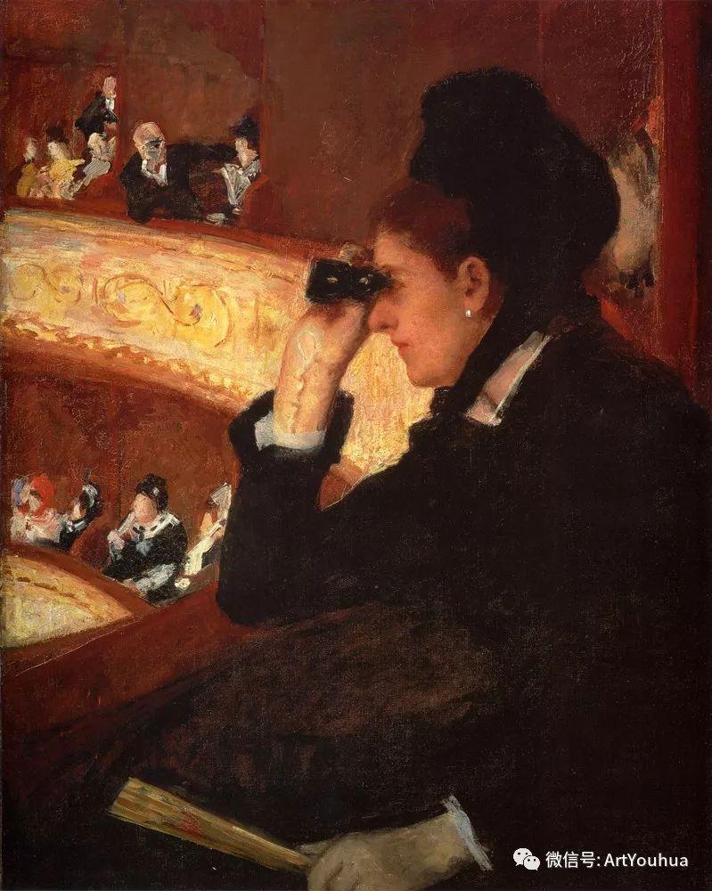 50张人物肖像  美国Mary Stevenson Cassatt油画作品一插图69