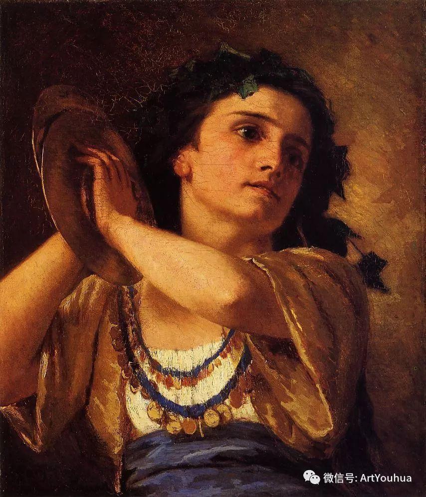 50张人物肖像  美国Mary Stevenson Cassatt油画作品一插图73