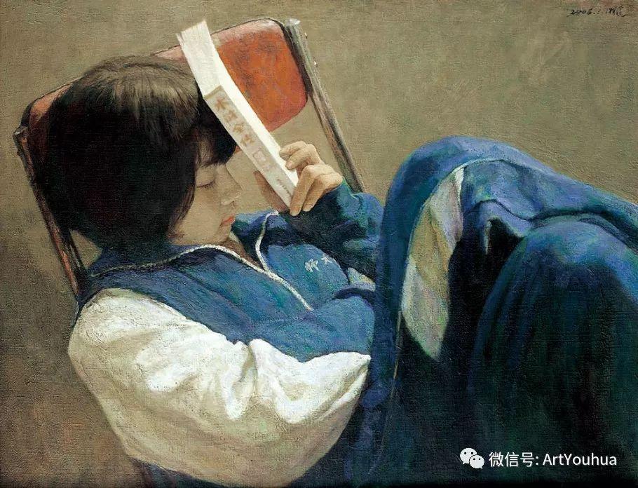 人物油画 曲湘建作品欣赏插图1