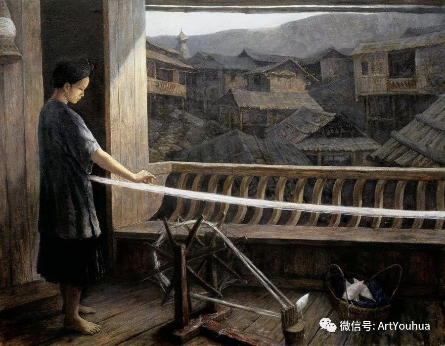 人物油画 曲湘建作品欣赏插图41