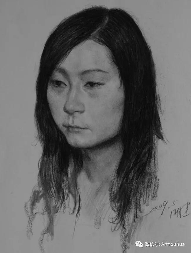 人物油画 曲湘建作品欣赏插图49