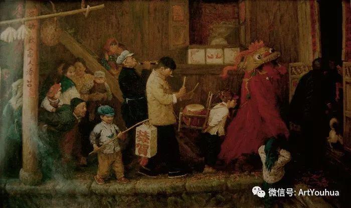 人物油画 曲湘建作品欣赏插图61
