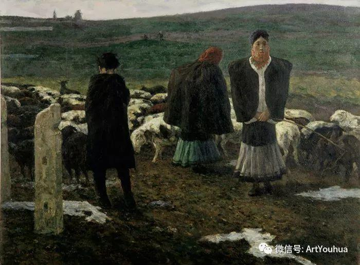 人物油画 曲湘建作品欣赏插图63