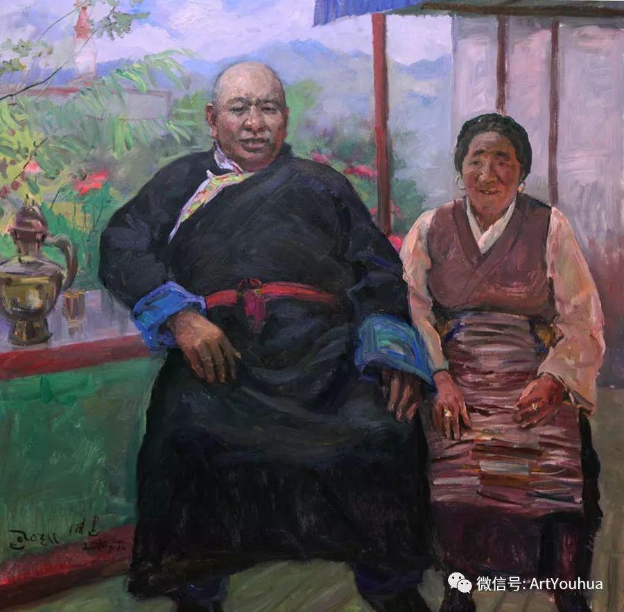 人物油画 曲湘建作品欣赏插图85