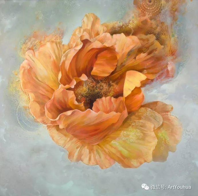 花卉 意大利抽派画家Carmelo blandino作品插图5