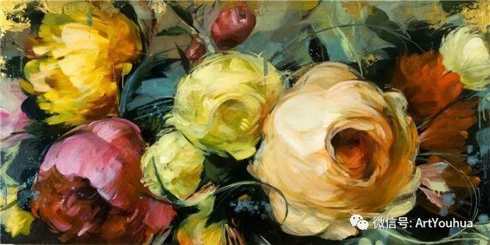 花卉 意大利抽派画家Carmelo blandino作品插图35