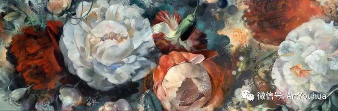 花卉 意大利抽派画家Carmelo blandino作品插图43