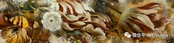 花卉 意大利抽派画家Carmelo blandino作品插图45