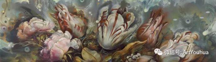 花卉 意大利抽派画家Carmelo blandino作品插图47