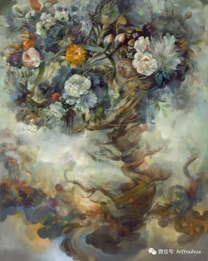 花卉 意大利抽派画家Carmelo blandino作品插图49