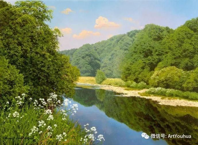 乡村风景油画 英国Michael James Smith插图1