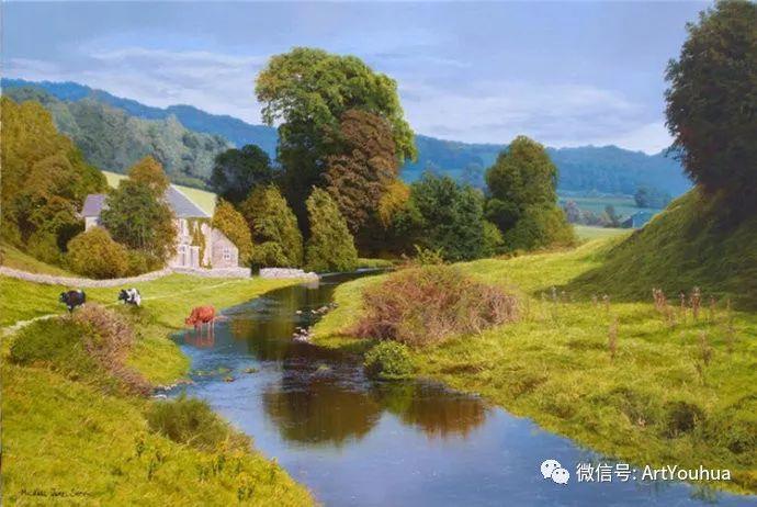乡村风景油画 英国Michael James Smith插图3