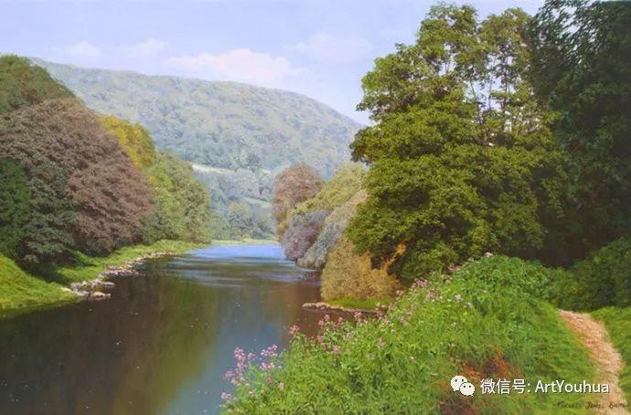 乡村风景油画 英国Michael James Smith插图5