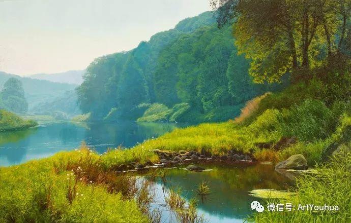 乡村风景油画 英国Michael James Smith插图7