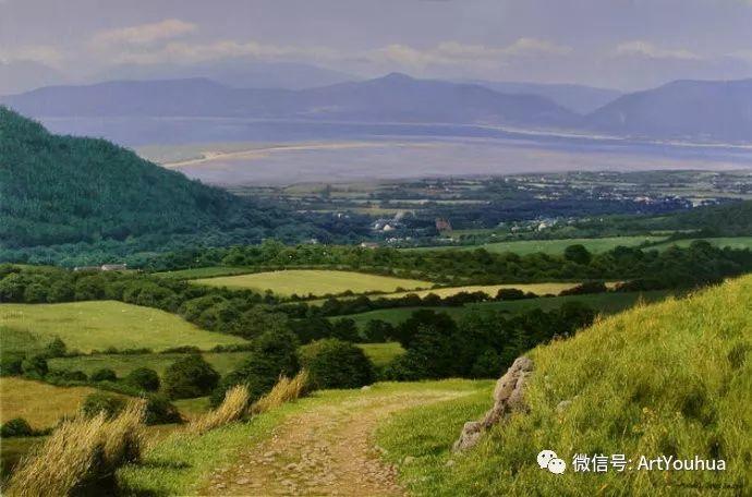 乡村风景油画 英国Michael James Smith插图9