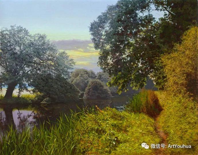 乡村风景油画 英国Michael James Smith插图17