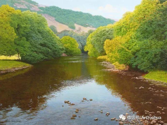 乡村风景油画 英国Michael James Smith插图19
