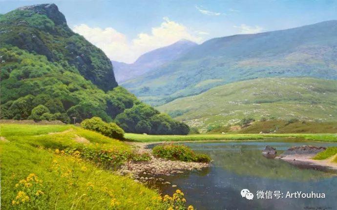 乡村风景油画 英国Michael James Smith插图21