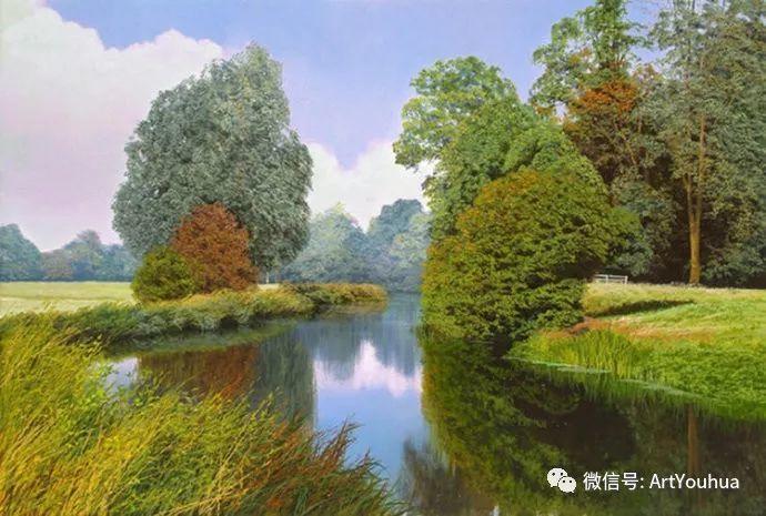 乡村风景油画 英国Michael James Smith插图25