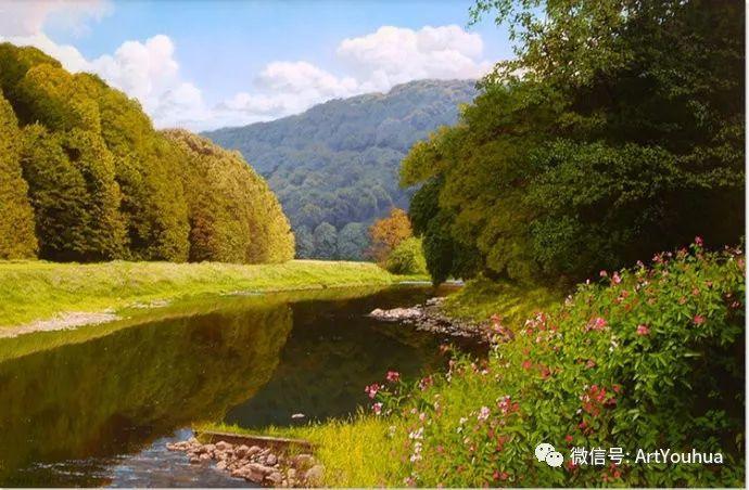乡村风景油画 英国Michael James Smith插图29