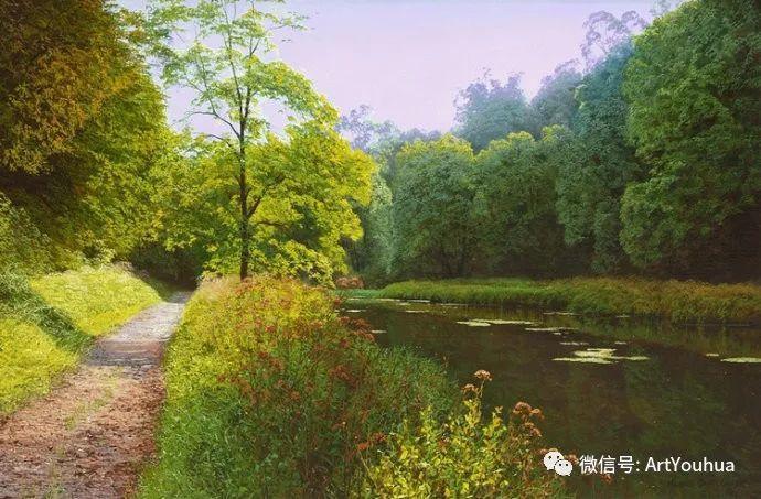 乡村风景油画 英国Michael James Smith插图31
