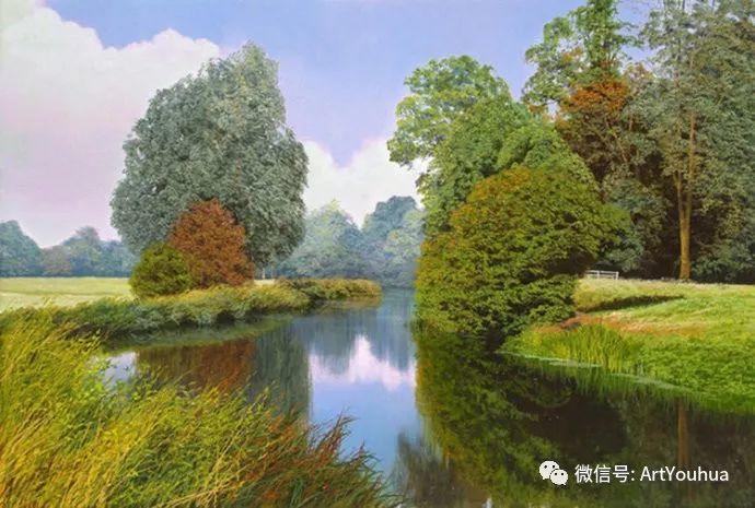 乡村风景油画 英国Michael James Smith插图33