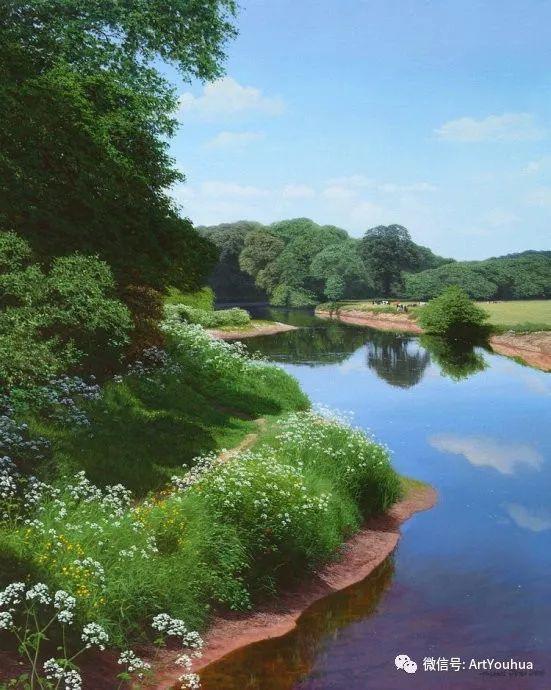 乡村风景油画 英国Michael James Smith插图37