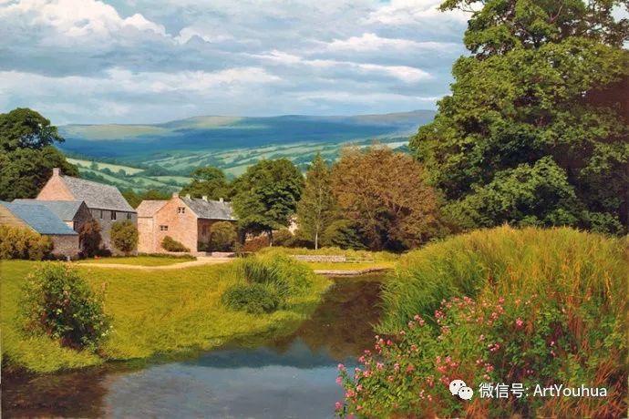 乡村风景油画 英国Michael James Smith插图39
