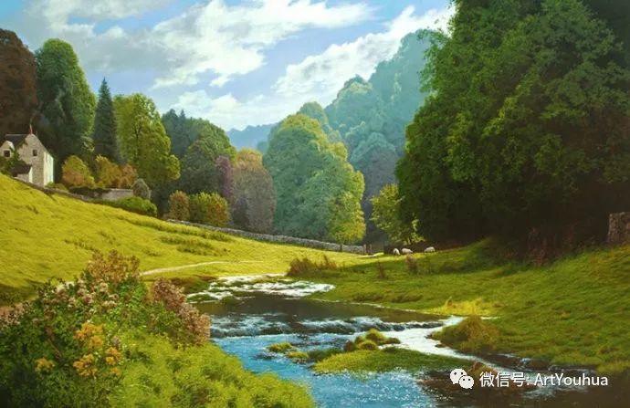 乡村风景油画 英国Michael James Smith插图43