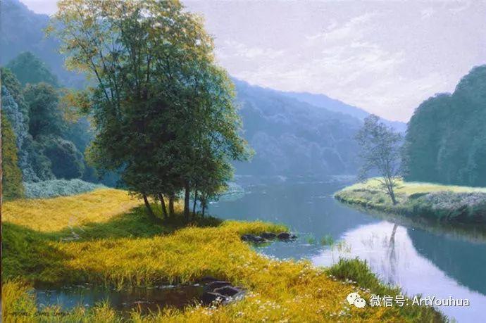 乡村风景油画 英国Michael James Smith插图49