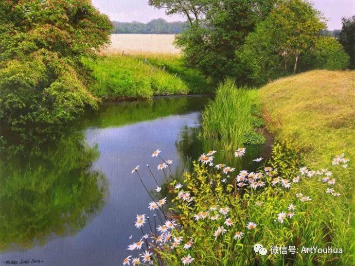乡村风景油画 英国Michael James Smith插图51