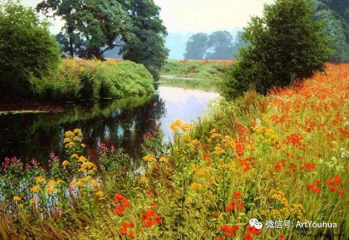 乡村风景油画 英国Michael James Smith插图53