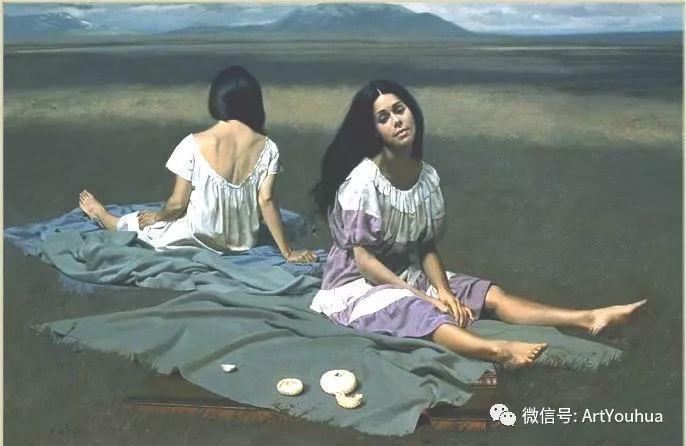 96图 美国William Whitaker人物油画欣赏插图29