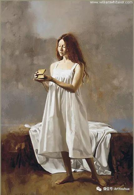 96图 美国William Whitaker人物油画欣赏插图33
