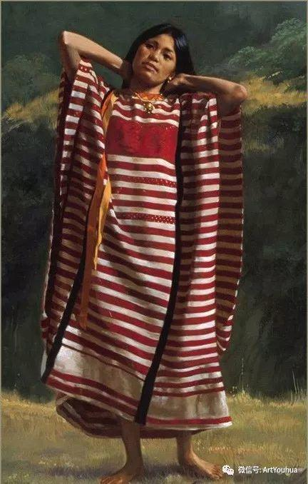 96图 美国William Whitaker人物油画欣赏插图39