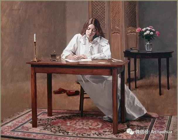 96图 美国William Whitaker人物油画欣赏插图41