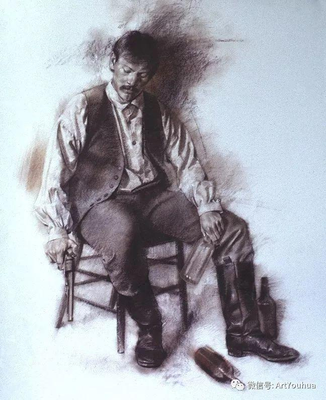 96图 美国William Whitaker人物油画欣赏插图51