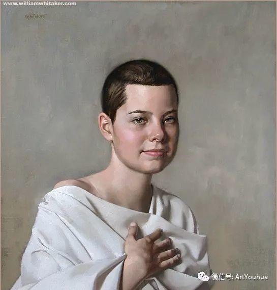 96图 美国William Whitaker人物油画欣赏插图83