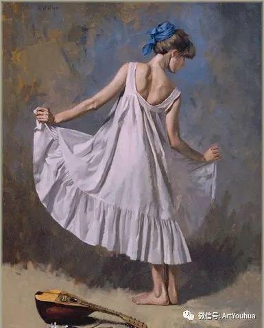 96图 美国William Whitaker人物油画欣赏插图95