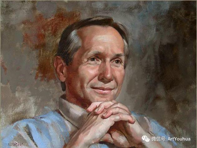 96图 美国William Whitaker人物油画欣赏插图121