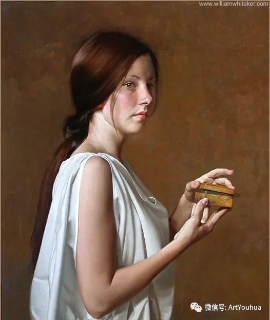 96图 美国William Whitaker人物油画欣赏插图165