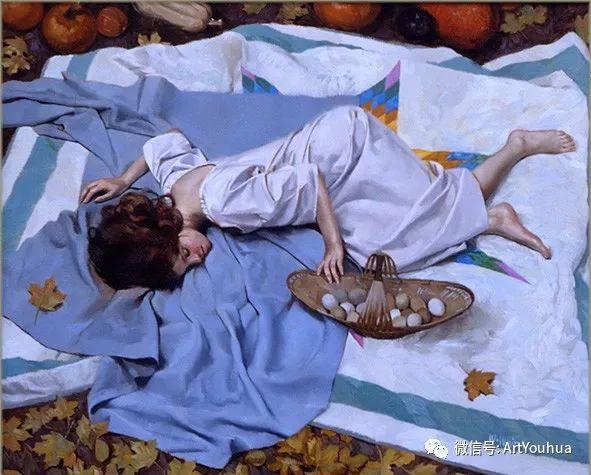 96图 美国William Whitaker人物油画欣赏插图183