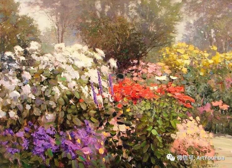 印象风景油画欣赏  美国Kent.R.Wallis作品二插图1