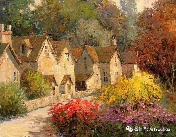 印象风景油画欣赏  美国Kent.R.Wallis作品二插图3