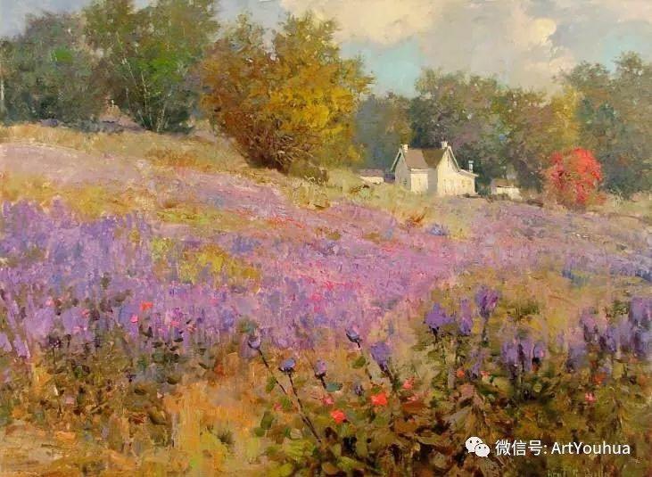 印象风景油画欣赏  美国Kent.R.Wallis作品二插图5