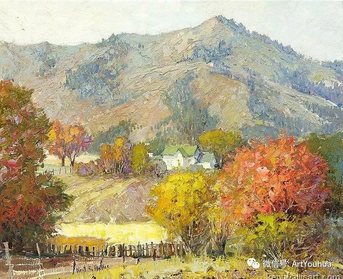 印象风景油画欣赏  美国Kent.R.Wallis作品二插图11