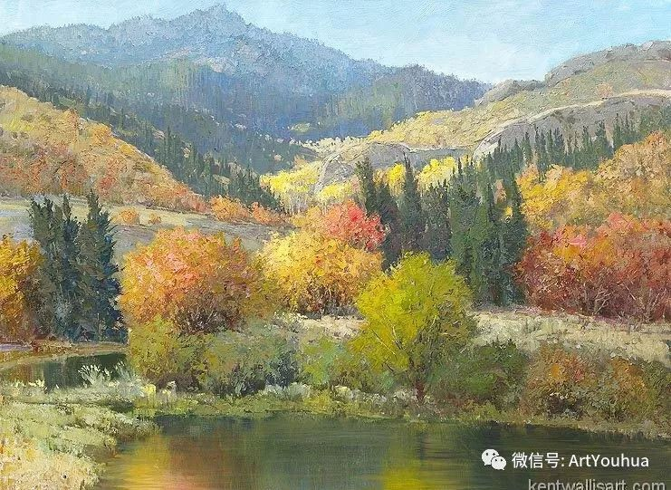 印象风景油画欣赏  美国Kent.R.Wallis作品二插图13