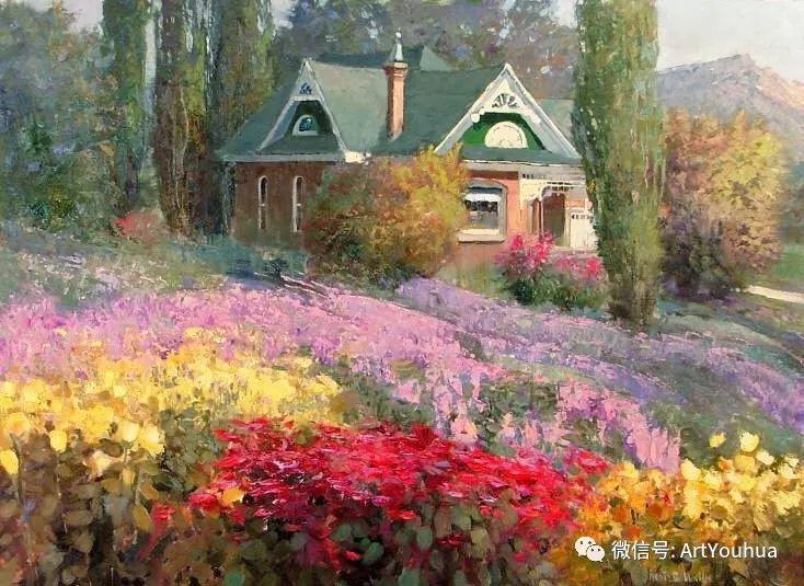 印象风景油画欣赏  美国Kent.R.Wallis作品二插图15