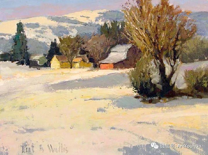 印象风景油画欣赏  美国Kent.R.Wallis作品二插图17